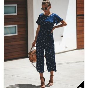 VICI Home Free Jumpsuit - navy